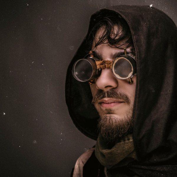 Steampunk Portrait-Aufnahme in Photoshop für mein Portfolio